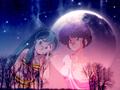 urusei-yatsura - Crossover _ Lum & Akane Tendo wallpaper