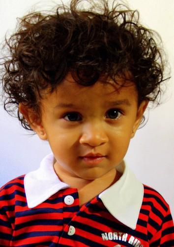 Cute baby Tejas