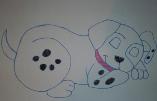 101 Dalmatians wallpaper titled Dalmatian puppy