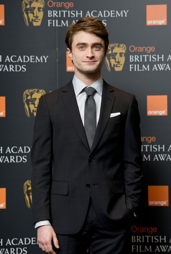 Daniel Radcliffe attend the nomination announcement for The オレンジ BAFTA