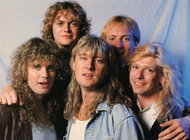 Def leppard images def leppard wallpaper and background for 80s wallpaper home