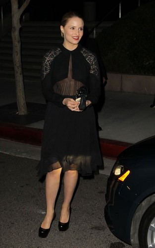 Dianna Agron at William Morris Agency Golden Globes Nominee Party (January 14).