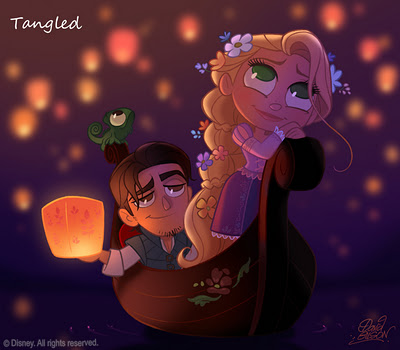Disney Chibi - disney Fan Art