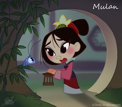 디즈니 Chibi