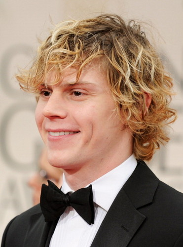 Evan Peters 69th Annual Golden Globe Awards
