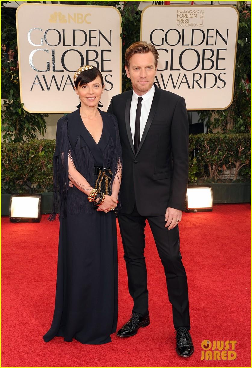 Ewan McGregor - Golden Globes 2012 Red Carpet