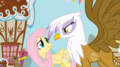 my-little-pony-friendship-is-magic - Fluttershy and Gilda screencap