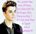 For TayTayBieber A.K.A The No.1 JB Fan!!!! - taytaybieber fan art
