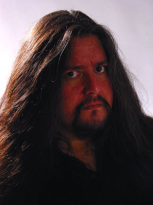 Fear Factory wallpaper possibly with a portrait titled Gene Hoglan