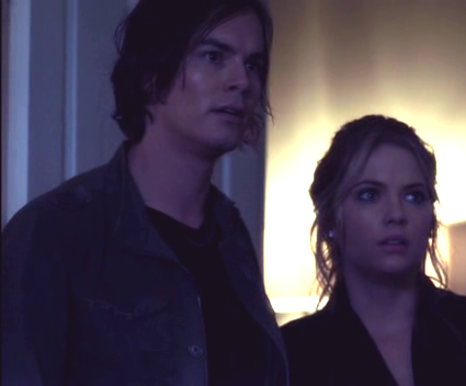 Hanna & Caleb wallpaper containing a business suit called Hanna/Caleb 2x16ღ