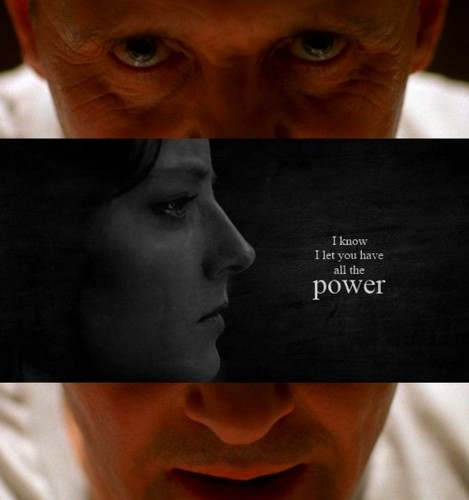 Dr. Hannibal Lecter and Clarice Starling wallpaper probably containing a sign called Hannibal and Clarice Fanart
