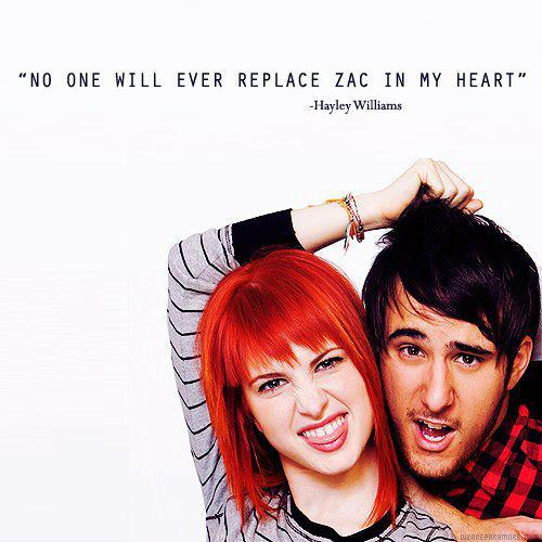 Hayley and Zac