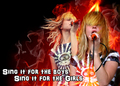 Hayley singing ;D - paramore fan art