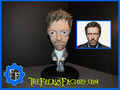 "Hugh Laurie as "" House"" fan Sculpture  - house-md fan art"