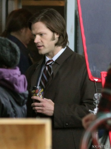 Jared Padalecki & Jensen Ackles Shoot 'Supernatura' In Vancouver