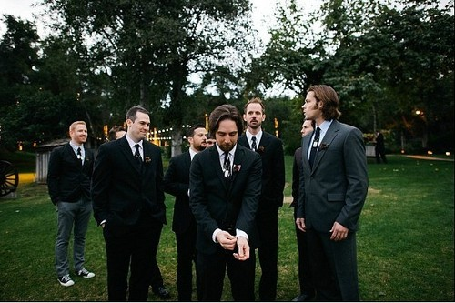 Jared Padalecki wallpaper with a business suit, a suit, and a dress suit titled Jared at Brian Buckley's wedding