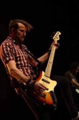 Jeremy on stage