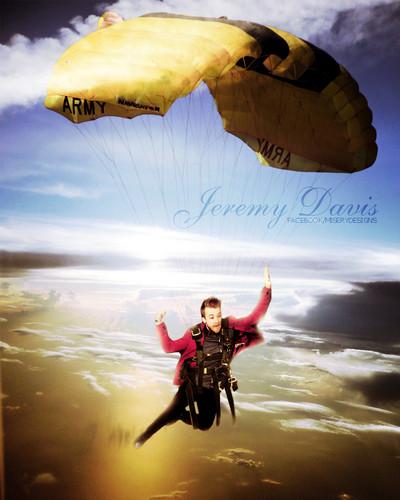 Jeremy skydiving