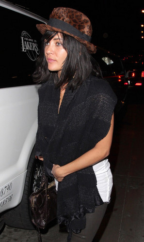 Jessica Szohr at Trousdale