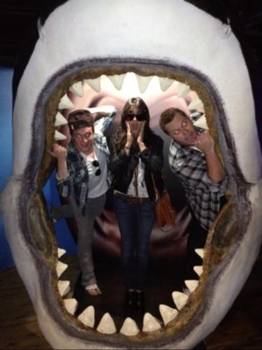 Josh at Melbourne Aquarium, Australia
