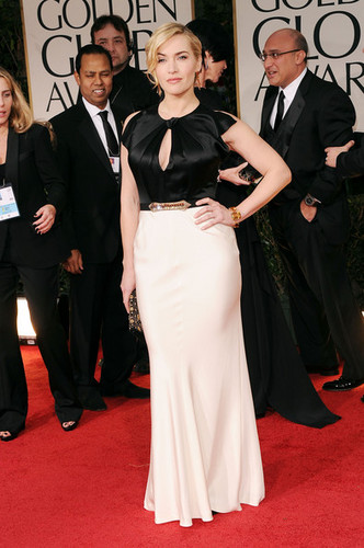Kate Winslet Golden Globe 2012