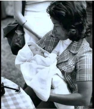 Katherine and Baby Michael :)