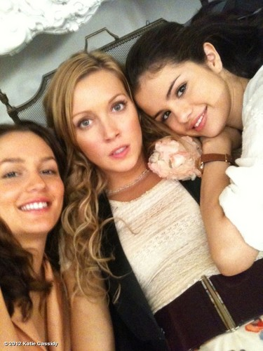 Katie, Leighton and Selena