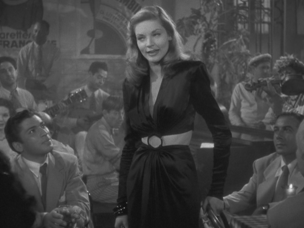Lauren Bacall Lauren Bacall in  quot To Have and Have Not quot Lauren Bacall To Have And Have Not