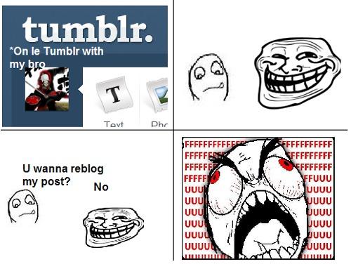 Le Tumblr Troll