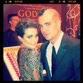 Lea/Mark Twitter Pic! - rachel-and-puck photo