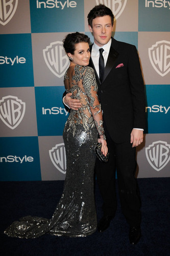 Lea and Cory at the Golden Globes ♥