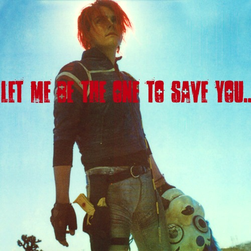 Let me be the one to save you..