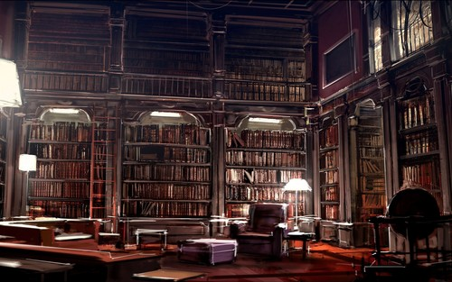Libraries & Leggere wallpaper