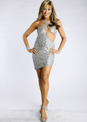 Lilian Garcia wallpaper probably containing a cocktail dress, a chemise, and a chemise called Lilian Garcia Photoshoot Flashback