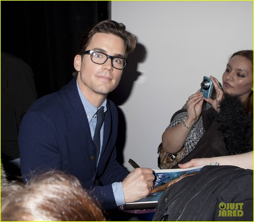 Matt Bomer: Apple Store Talk - matt-bomer Photo