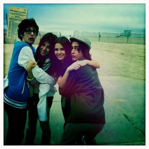 Matt, Daniella, Avan and Victoria