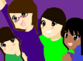 Me,Aliya,Savannah,and Anastasia! - torixyz fan art