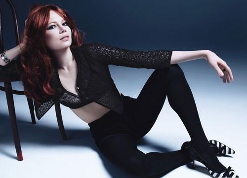 Michelle Williams - 'W Magazine' February 2012