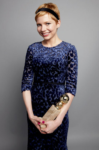 Michelle Williams - Golden Globe 2012: Exclusive Winners' Portraits