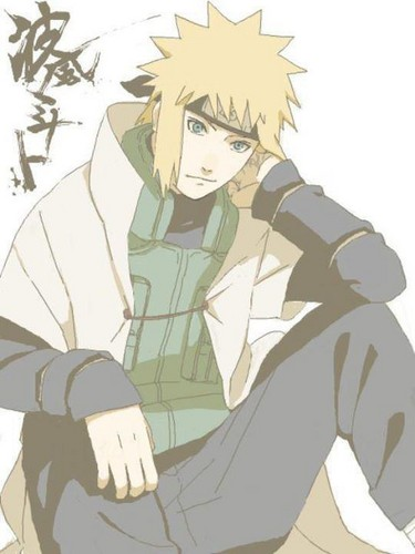 Minato Namikaze wallpaper probably containing anime called Minato Namikaze ^////^