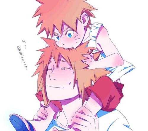 Minato & Naruto ^_^