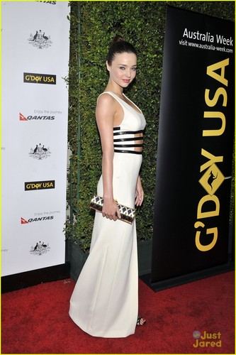 Miranda Kerr: G'Day USA Black Tie Gala