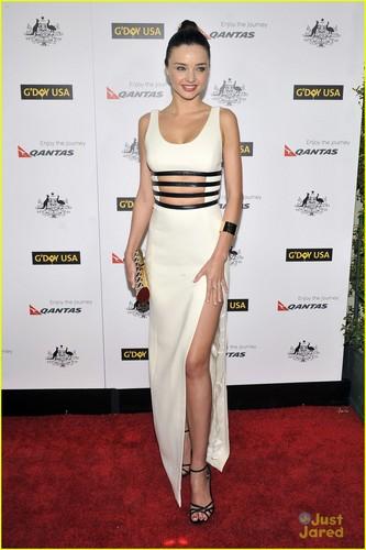 Miranda Kerr: G'Day USA Black Tie Gala