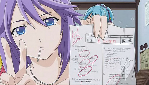 Mizore in Mid-Term Exam