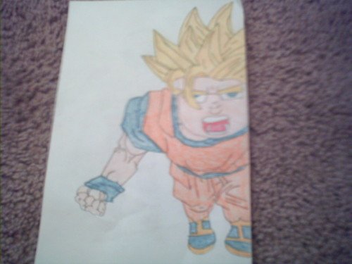 My epic Goku fail...T_T
