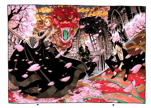 Nami - Zoro - Luffy