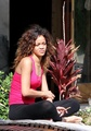 Outside A Hotel In Hawaii 15 January 2011 - rihanna photo