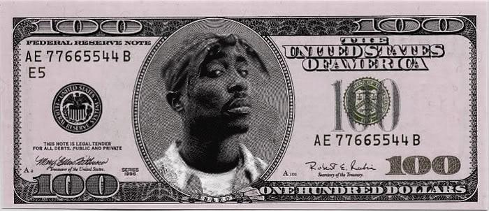 Pac Hundred Dollar Bill