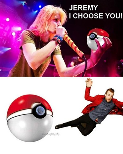 Paramore pokemon