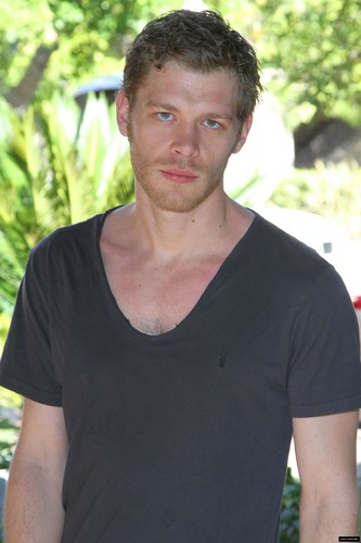 Joseph Morgan wallpaper possibly containing a jersey entitled Photoshoot